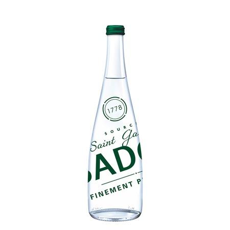 Badoit 12 x 0,75l Premium Glasflasche (mit Kohlensäure)