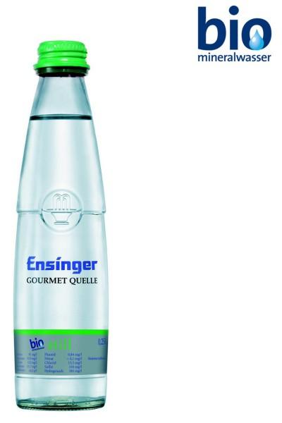 Ensinger Gourmet Bio still 30 x 0,25l